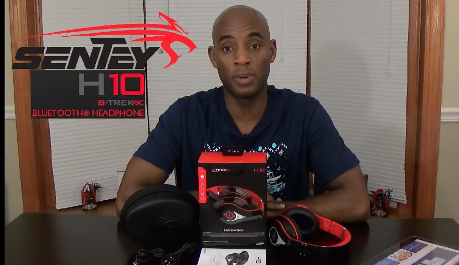 Sentey BTrek H10 Bluetooth Headphones Unboxing and Review