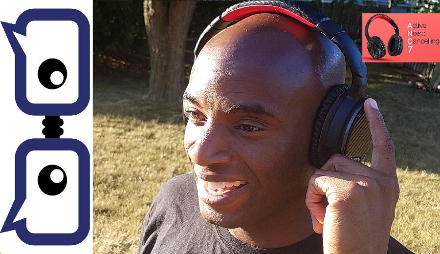 Ausdom ANC7 Noise Canceling Bluetooth Headphones Review
