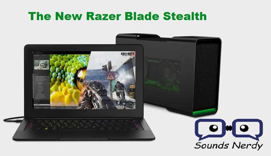 Razer Blade Stealth Unboxing
