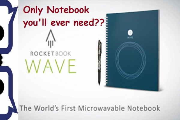 Rockbook Wave Notebook