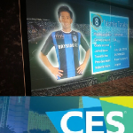 CES 2017 Panasonic Shows Off Projection and TV on Glass