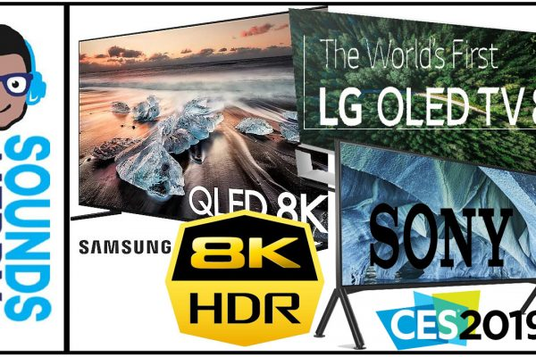 CES 2019 8K TVs