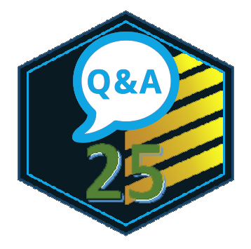 Answering 25 Questions