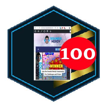 Visiting Soundsnerdy.com 100 Times