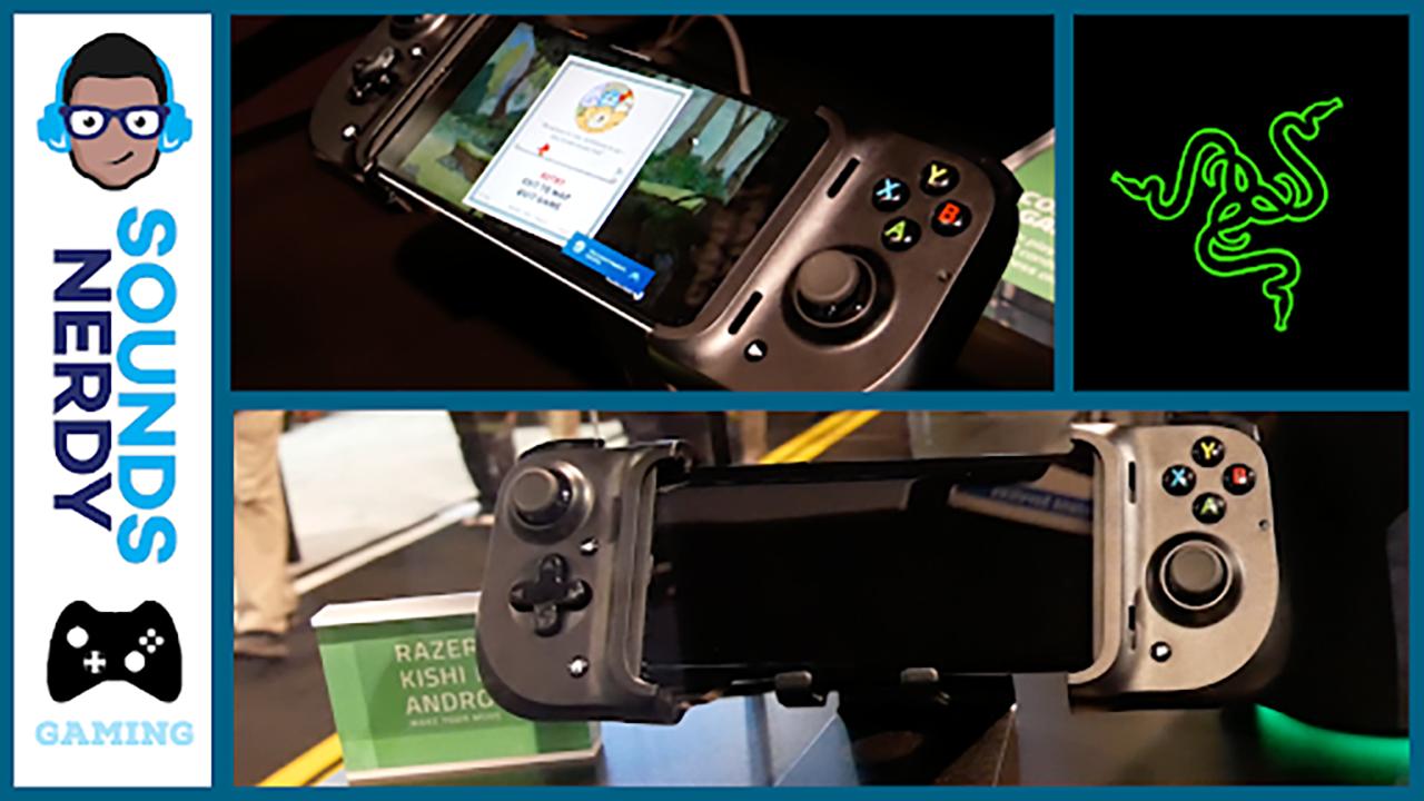 CES 2020: Razer Kishi Mobile Controller for Android & iOS