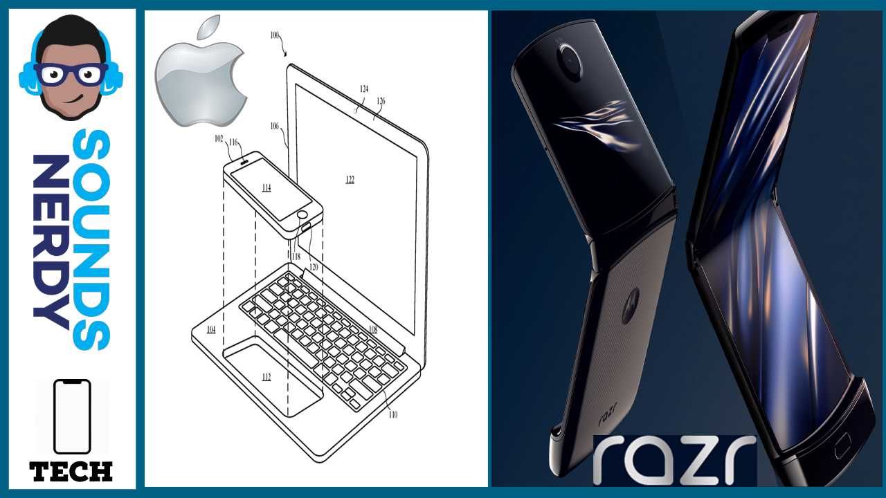 Apple Patents Dock-Like Device, Razr will have Bumps and Lumps: Tech News