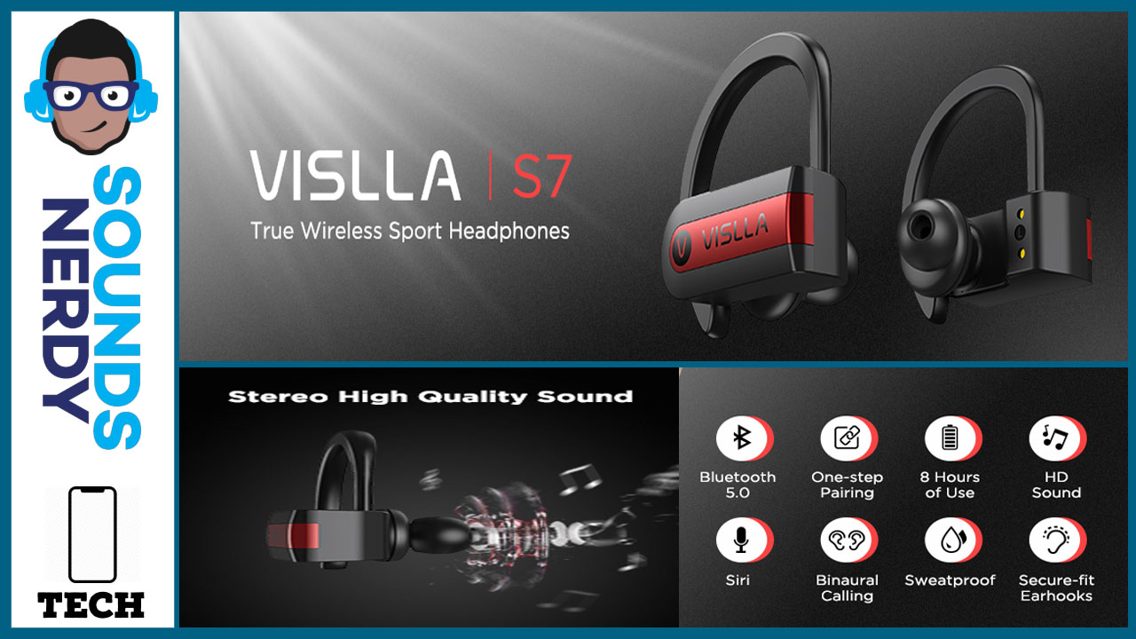 Vislla S7 Review: True Wireless Earbuds for $40