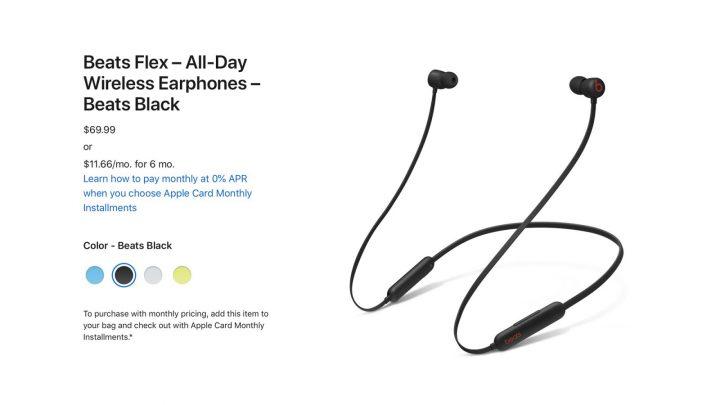 Apple mysteriously raises Beats Flex earphones price to $69